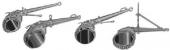 Универсальный цепной ключ PETOL (США) с многорядной цепью для монтажа бурильного инструмента